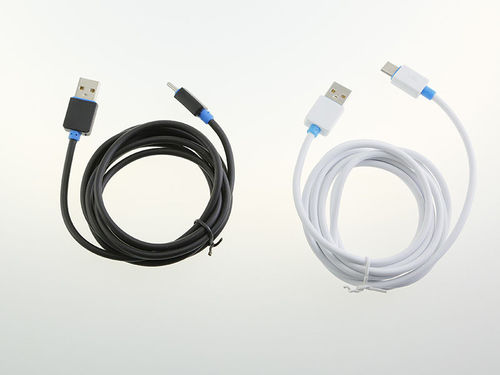 CABLE USB TIPO C B/N*200CM